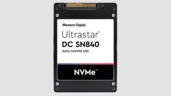 Western Digital объявляет о выпуске двухпортового SSD-накопителя NVMe Ultrastar DC SN840