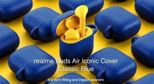 Анонсированы Realme Buds Air Iconic Cover и 1000mAh Power Bank в Классическом Синем