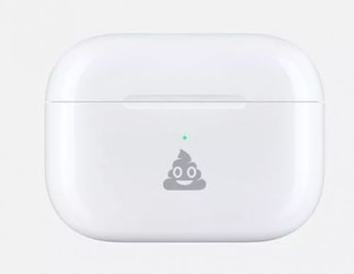 Apple теперь позволяет вам выгравировать эмодзи на вашем корпусе AirPods