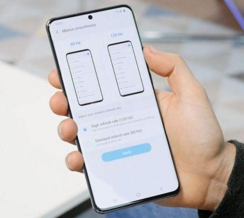 Частота обновления экрана Samsung Galaxy S20 в 120 Гц сильно сказывается на времени автономной работы
