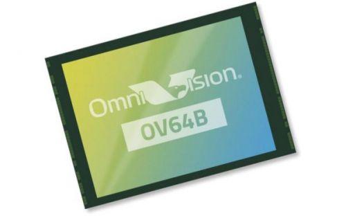 Датчик изображения OmniVision OV64B 64MP с размером пикселя 0,7 микрона