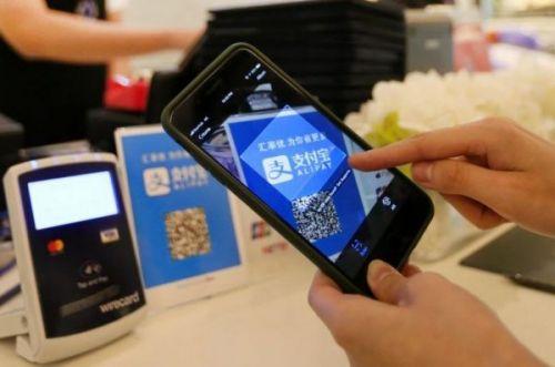 Доля рынка мобильных платежей Alipay достигает 53,58%, занимает первое место в мире