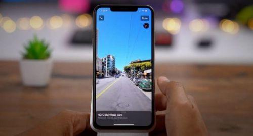 Где работает функция «Просмотр улиц» Apple Maps