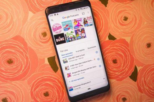 Google Podcasts получает новый переключатель аккаунта жестом смахивания