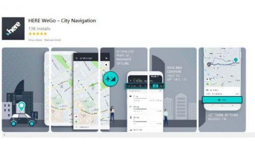 Huawei предлагает альтернативу Google Map