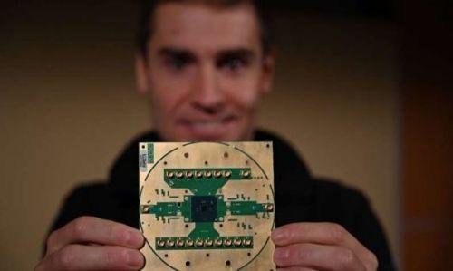 Intel представляет криогенный управляющий чип Horse Ridge