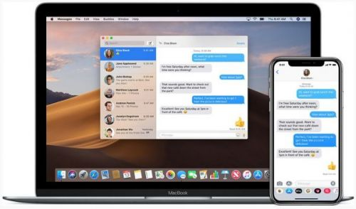 Как включить iMessage на Mac