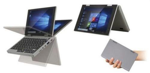 Крошечный ноутбук с сенсорным экраном Windows