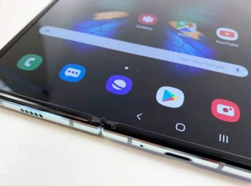 По неофициальным изображениям Samsung Galaxy Fold 2 представлен как складной телефон с изысканным дизайном