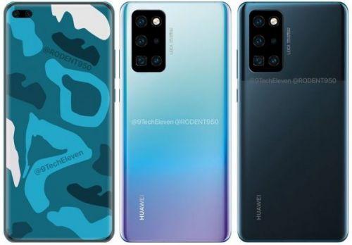 Показаны последние HD-рендеринга Huawei P40 Pro