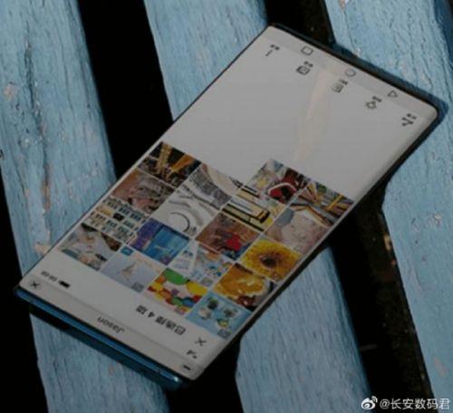 Полноэкранный телефон Huawei без всплывающей камеры, отверстия или выемки