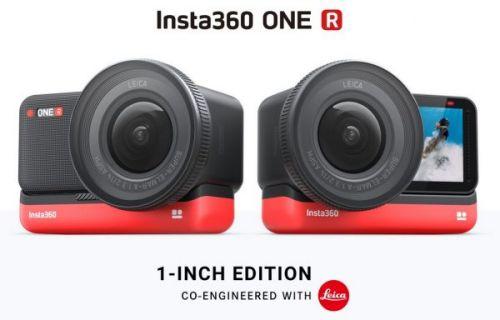 Представлена экшн-камера Insta360 ONE R с оптикой Leica и сменным модулем