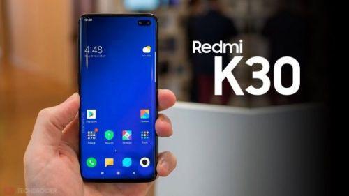 Redmi K30 оснащен сенсором изображения с высоким разрешением