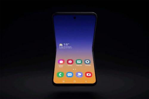 Samsung предложила концепцию раскладного телефона