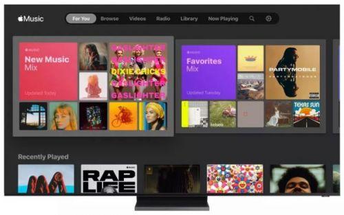 Смарт-телевизоры Samsung получают приложение Apple Music