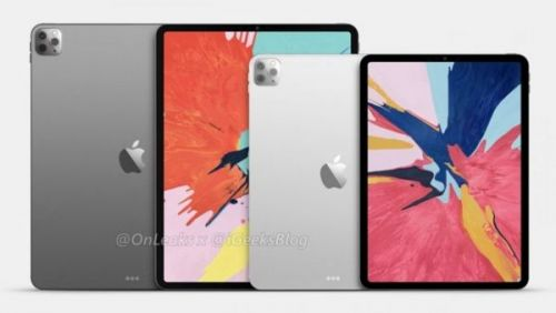 Утечка изображений iPad Pro 2020 показывает тройную камеру и заднюю крышку
