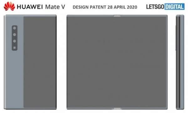 Huawei зарегистрировала торговую марку Mate V для складного телефона