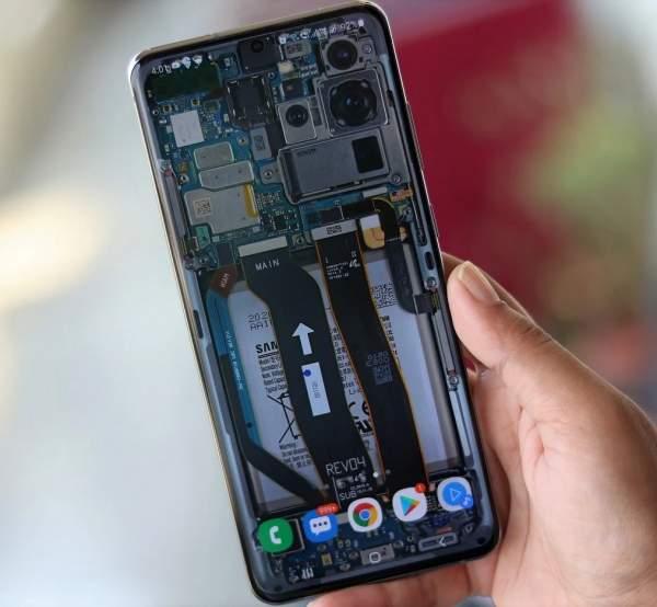 В тесте Galaxy S20 Fan Edition представлен чипсет Snapdragon 865