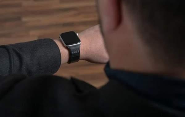Браслет для Apple Watch позволяет управлять им бесконтактно
