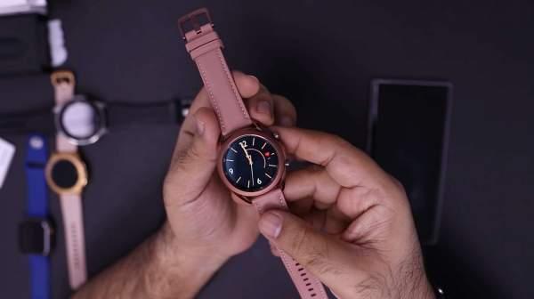 Распаковка Samsung Galaxy Watch 3 в преддверии официального анонса