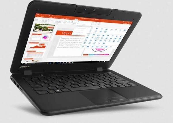 Lenovo представила второе поколение ноутбуков 100e