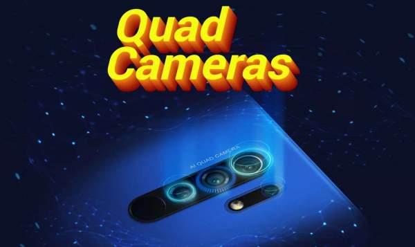 Poco M2 будет иметь модуль из четырех камер сзади и аккумулятор 5000 мАч