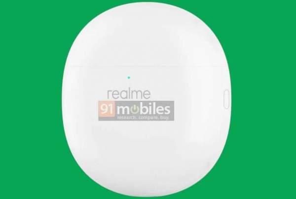 Патент Realme Buds Air Pro раскрывает дизайн зарядного футляра