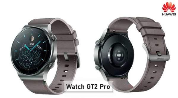 Huawei Watch GT 2 Pro появится в Китае с HarmonyOS
