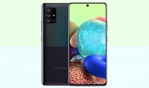 Первым телефоном Samsung с пентакамерой станет Galaxy A72