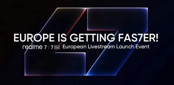Серия Realme 7 официально дебютирует в Европе 7 октября