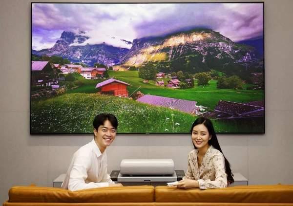 Samsung запускает лазерные проекторы 4K в Южной Корее
