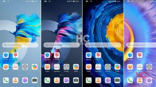 Загрузите и установите темы Huawei Mate 40 на свой телефон