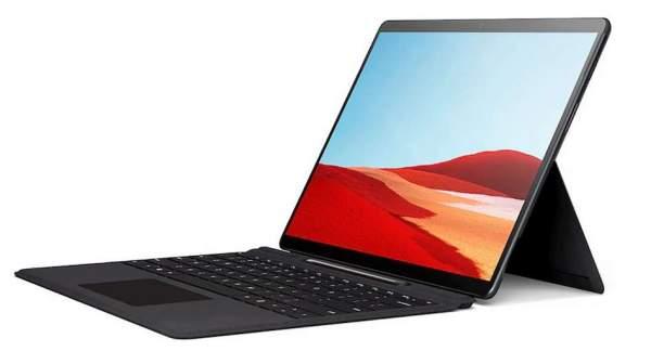 Microsoft Surface Pro X, как сообщается, получит новый процессор и цвет