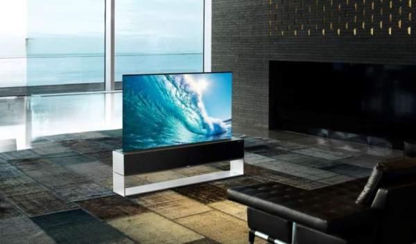 Сворачиваемый OLED-телевизор LG поступит в продажу за 87000 долларов
