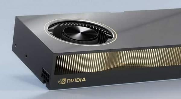 NVIDIA RTX A6000 показала слабые результаты в первых тестах
