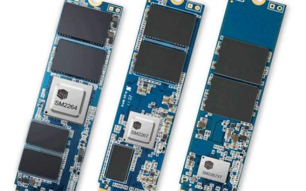 Silicon Motion запускает контроллер PCIe 4.0 NVMe 1.4 - скорость 7400 МБ / с