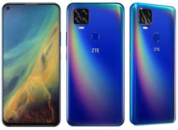 ZTE V2020 5G официально выходит с процессором Dimensity 800 SoC
