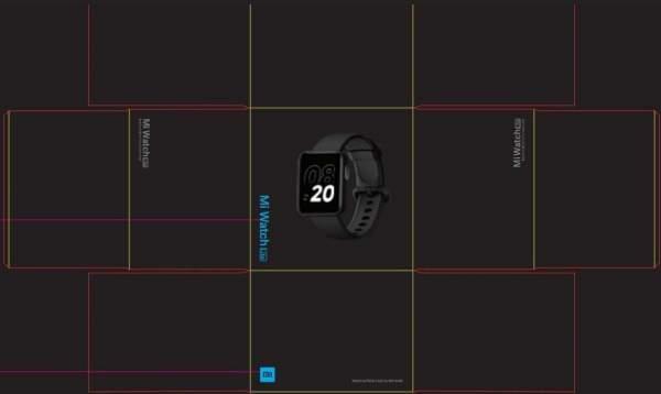 Xiaomi Mi Watch Lite появился в списке FCC с основными характеристиками и изображениями