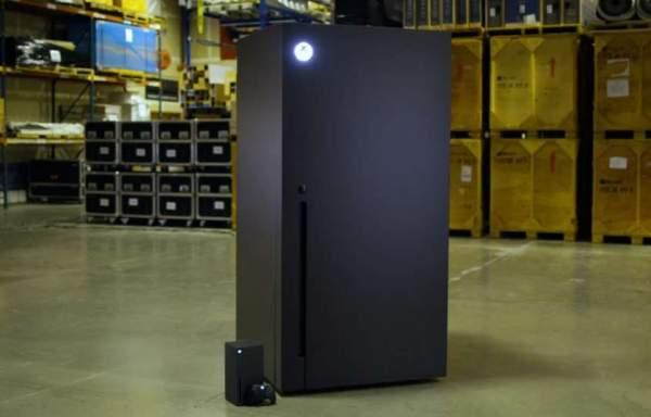 Microsoft представляет холодильник для Xbox Series X