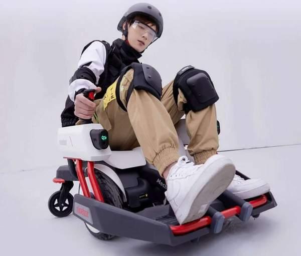 Ninebot представляет необычный аксессуар для своих скутеров