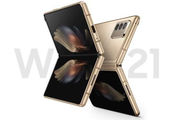 Представлен складной телефон Samsung W21 5G с двумя дисплеями