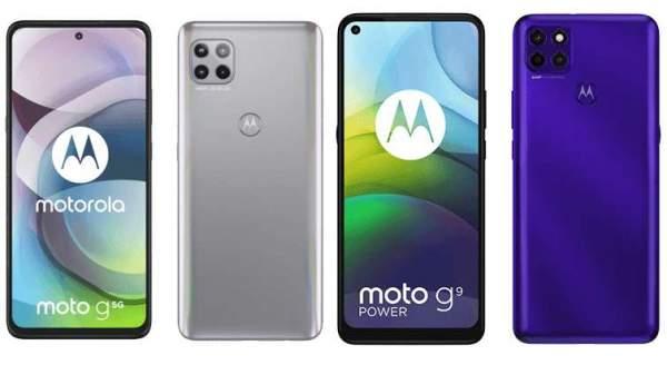 Motorola расширяет портфолио 5G и представляет Moto G 5G и Moto G9 Power