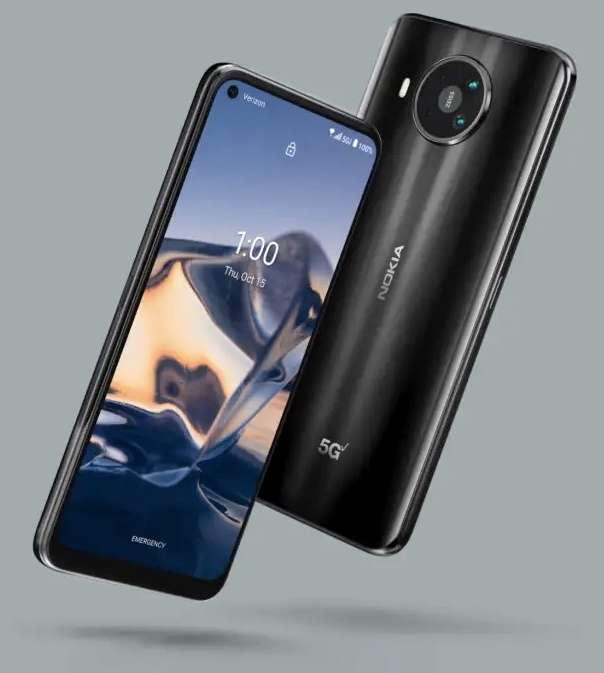 Официально анонсирован Nokia 8 V 5G UW