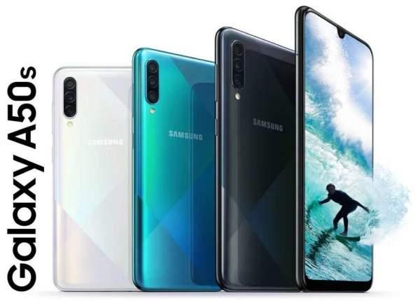 Samsung Galaxy A50s начал получать обновление One UI 2.5