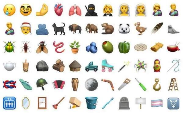iOS 14.2 принесет набор новых эмодзи, включая замаскированное лицо и многое другое