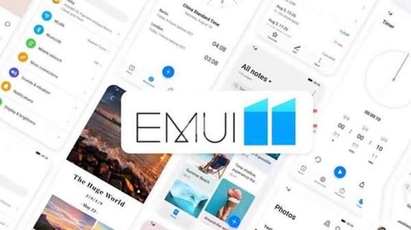 EMUI 11, Huawei
