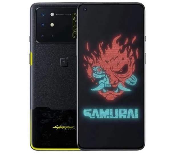 OnePlus 8T Cyberpunk 2077 Edition поступил в продажу на Giztop