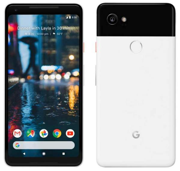 Google выпускает последнее обновление системы для Pixel 2 и Pixel 2 XL