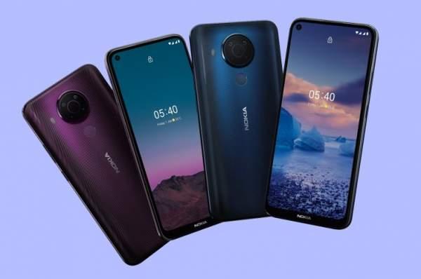 Nokia 5.4 с четырехъядерными камерами Snapdragon 662 и 48 МП выпущена по цене 189 евро