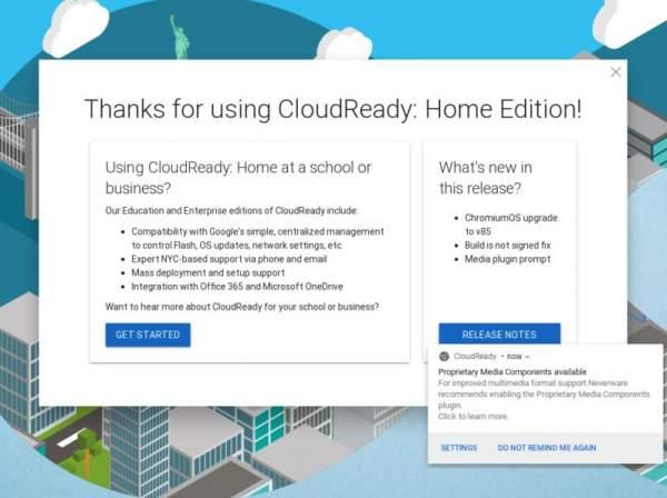 Google купил CloudReady, крупнейший дистрибутив ChromiumOS